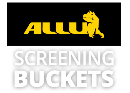 Allu Screening buckets from GroundTec