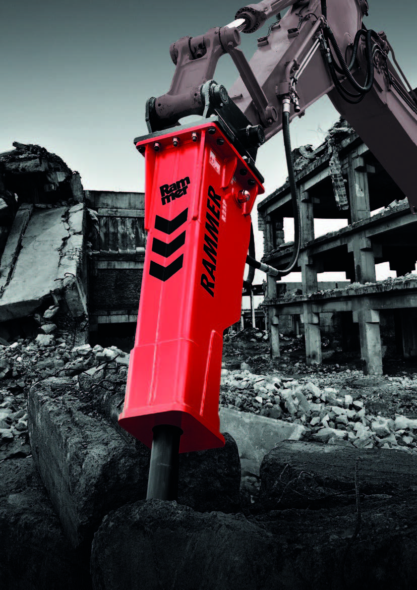 Rammer Performance line of Hydraulic Hammers - from GroundTec