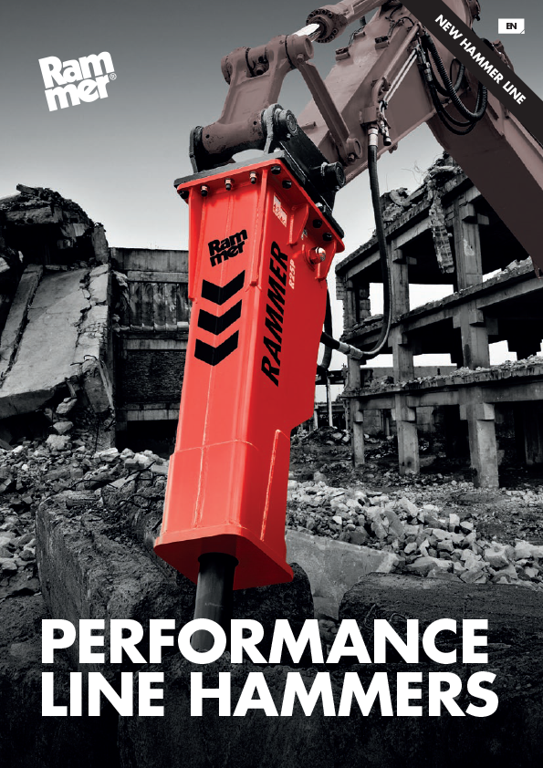 Rammer Performance Hydraulic Hammers and Rock Breakers